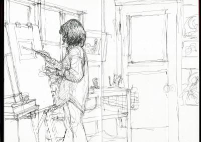 Karen, painting