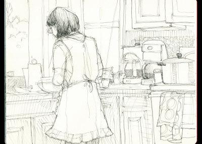 Rebecca, Cooking